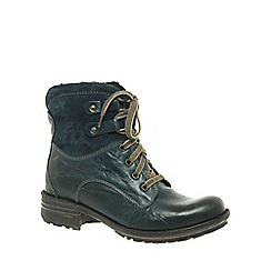 Josef Seibel - Dark blue 'Sue' Womens Lace Up Boots