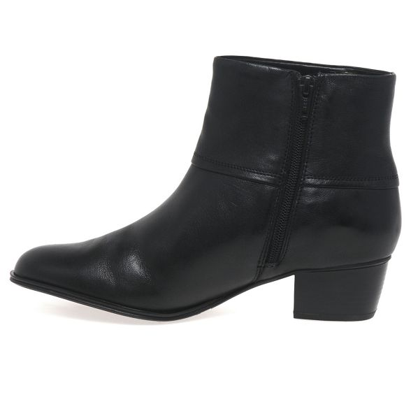 Black boots womens 'Juliette' Dal ankle Van FqwR7