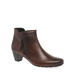 Gabor - Brown 'Bonsoir' womens modern ankle boots