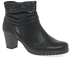 Gabor - Black 'Pollyanna' Womens Casual Ankle Boots
