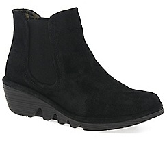 Fly London - Black 'Phil' womens casual ankle boots