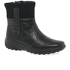 Rieker - Black 'Verity' womens casual boots