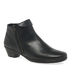 Rieker - Black 'Harris' womens casual ankle boots