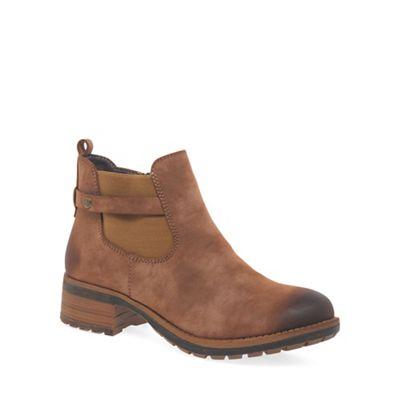 Rieker   Brown 'jonty' Womens Casual Boots by Rieker