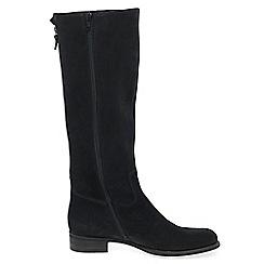 Gabor - Black nubuck 'palmer 'womens long boots