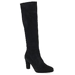 Peter Kaiser - Black suede 'Cessil' high heeled knee high boots