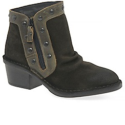 Fly London - Green suede 'Duke' ankle boots