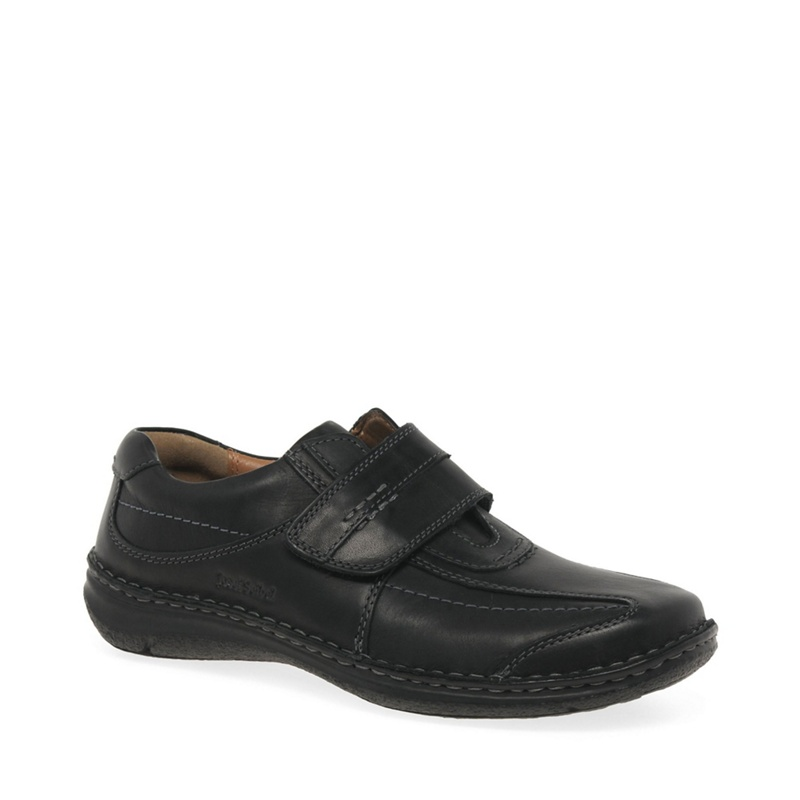 Josef Seibel - Black Alec Casual Shoes