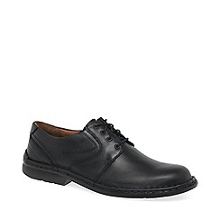 Josef Seibel - Black 'Walt' lace up shoes