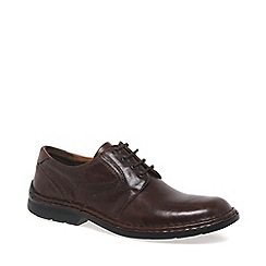 Josef Seibel - Brown Walt Lace Up Shoes