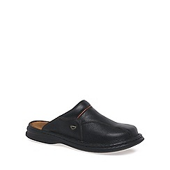 Josef Seibel - Black 'Klaus' leather mules