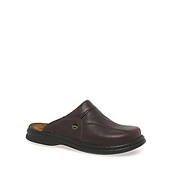 Josef Seibel - Brown Klaus Leather Mules