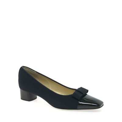 Peter Kaiser - Navy 'beli' bow detailed court shoes