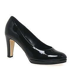 Gabor - Black 'splendid' womens dress court shoes