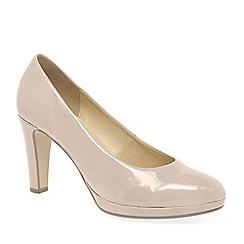 Gabor - Cream 'Splendid' Womens Dress Court Shoes