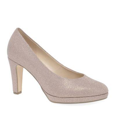Gabor - Rose patent 'Splendid' high heeled court shoes