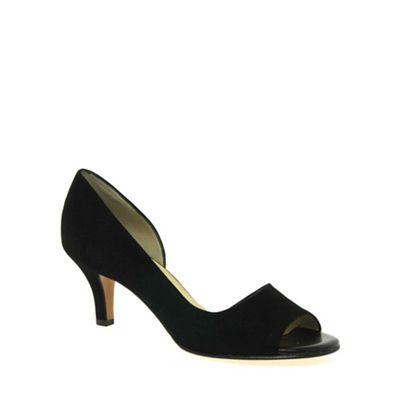 Peter Kaiser - Black 'jamala ii' womens open toe court shoes