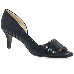 Peter Kaiser - Blue 'Jamala II' womens open toe court shoes