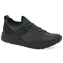 Fly London - Near black 'Suba' lightweight trainers