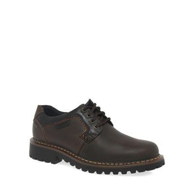 Josef Seibel - Dark Dark Dark brown 'Chance 08' Mens Waxed Brown Waterproof Casual Shoes a1a3ca