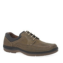 Anatomic & Co - Grey Leather 'Gurupi' Mens Casual Shoes