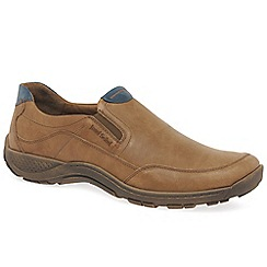 Josef Seibel - Tan 'Nolan 30' mens slip on shoes