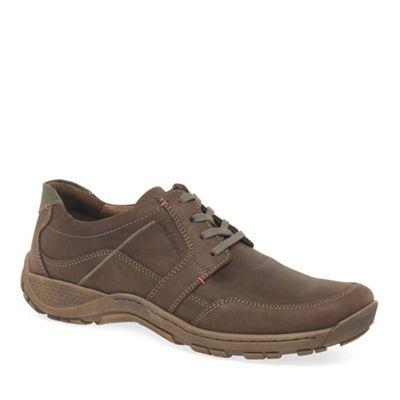 Josef Seibel - Brown 'Nolan 32' mens casual lace up shoes