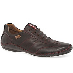 Pikolinos - Brown leather 'Freeway II' casual shoes
