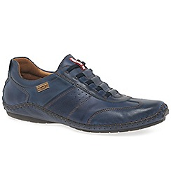 Pikolinos - Navy leather 'Freeway II' casual shoes