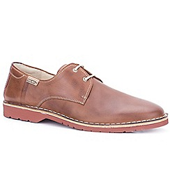 Pikolinos - Tan leather 'Ubeda' lace up casual shoes