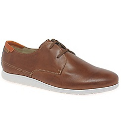 Pikolinos - Tan leather 'Fiesta' lace up casual shoes