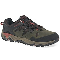 Merrell - Olive 'All Out Blaze 2' sports shoes