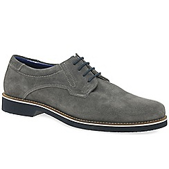 Bugatti - Grey suede 'Tern' casual lace up shoes