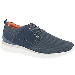 Bugatti - Dark blue 'Teal' fashion trainers