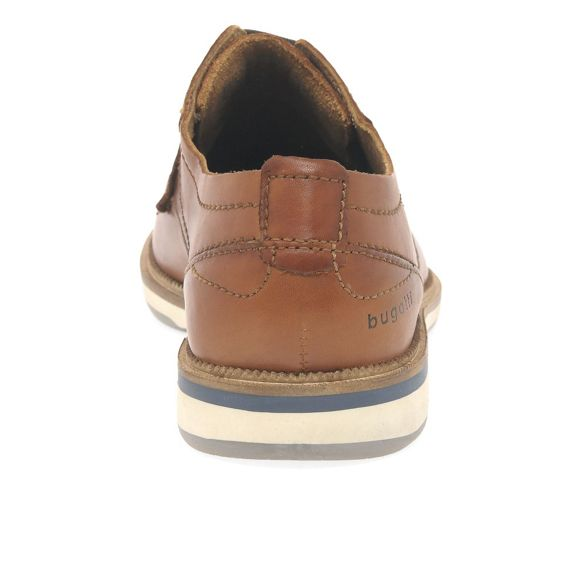 shoes Brown up leather Bugatti casual 'Hawk' lace fScYcZqz
