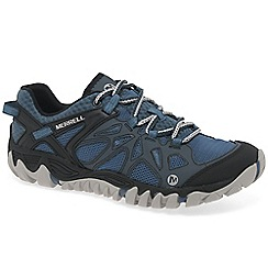 Merrell - Blue 'All Out Blaze Aero Sport' trainers