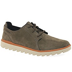 Merrell - Brown 'Downtown Sunsill Lace' casual shoes