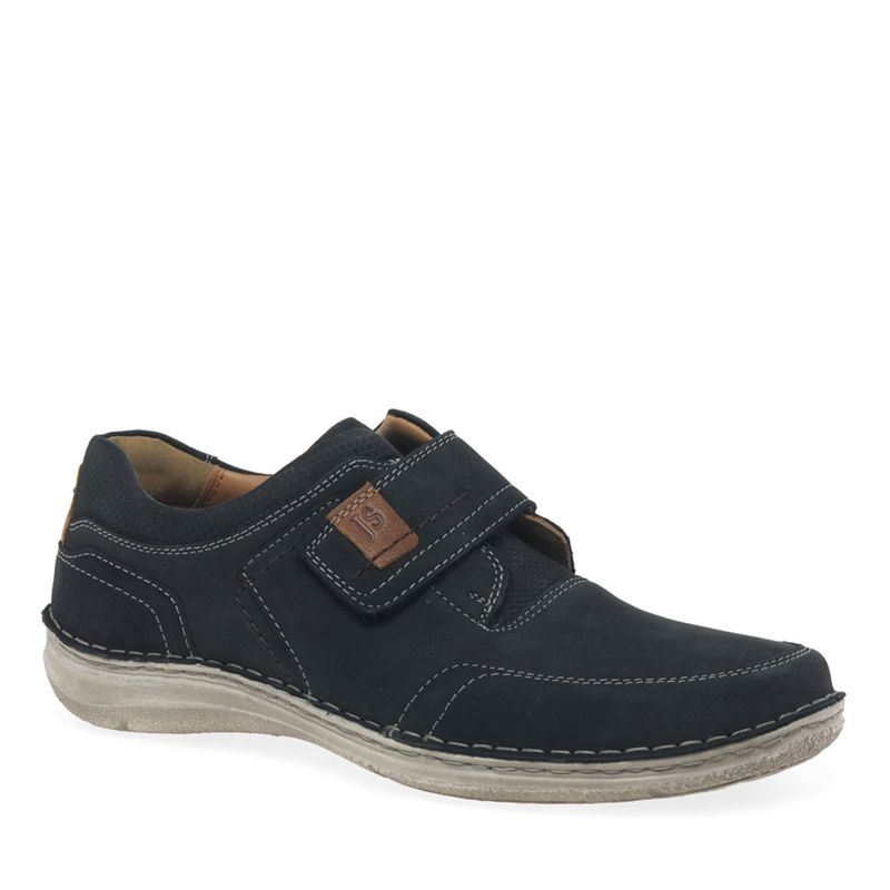 Josef Seibel - Dark Blue Nubuck Anvers 83 Extra Wide Casual