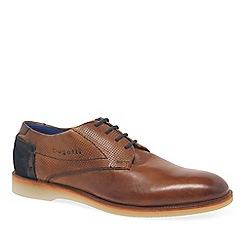 Bugatti - Brown suede 'Felix' Mens Formal Lace Up Shoes