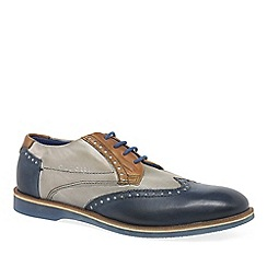 Bugatti - Multi Coloured leather 'Factor' Mens Lace Up Wing Tip Brogues