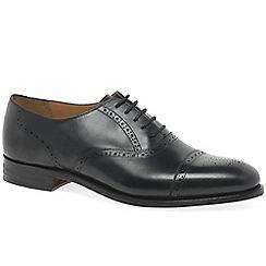 Barker - Black 'Gatwick' mens formal shoes