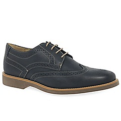 Anatomic & Co - Navy leather 'Tucano' brogues