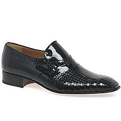 Paco Milan - Black 'Mijas' formal slip on shoes