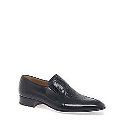 Paco Milan - Black 'Aragon' Mens Formal Slip On Shoes