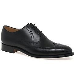 Barker - Black 'Denton' Mens Formal Shoes