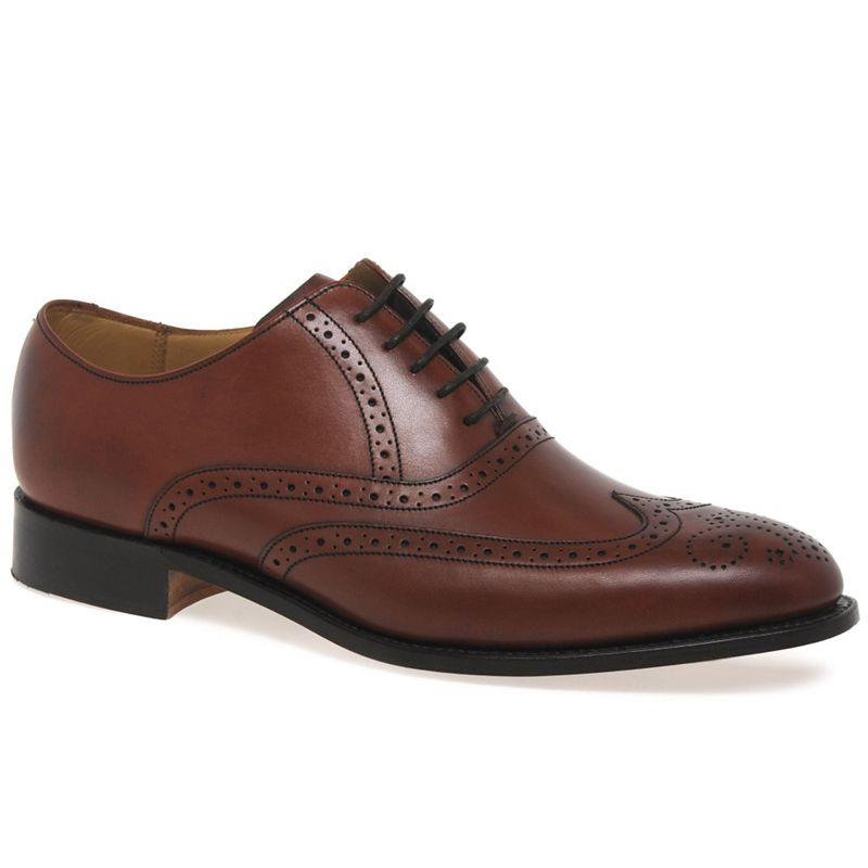 Barker - Brown Denton Mens Formal Shoes
