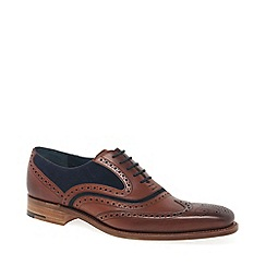 Barker - Brown leather 'McClean' brogues