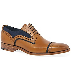 Barker - Multi-Coloured 'Haig' mens brown leather derby shoes
