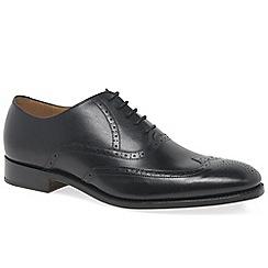 Barker - Black leather 'Roger' brogues