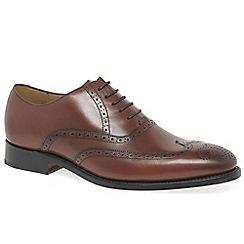 Barker - Brown leather 'Roger' brogues
